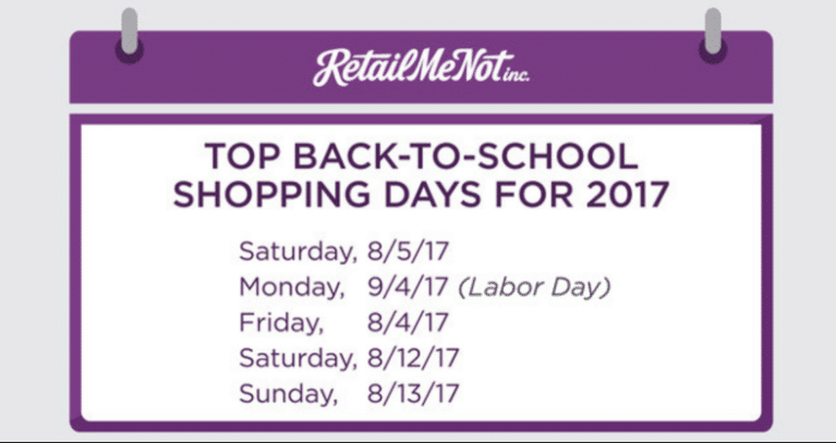 Retailers earning better grades for 2017 back-to-school marketing