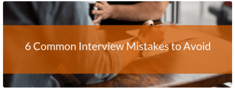 Media relations mentoring—6 common interview mistakes to avoid