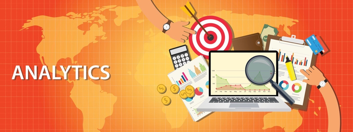 analytics data from website and get traffic by chart and graph