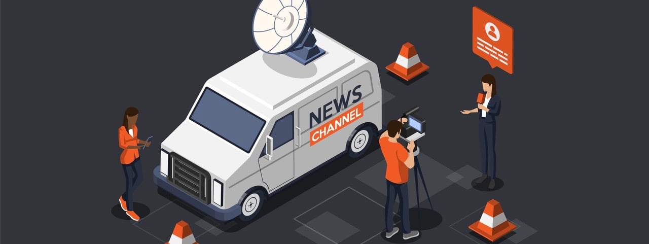 Reporters Publishing True News Based On Information From Journalists.